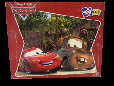 24 Teile Puzzle Cars gebraucht
