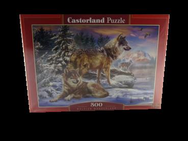 500 Teile Puzzle Wolfisch Wonderland NEUWARE