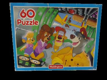 60 Teile Puzzle Käptn Balou gebraucht
