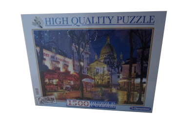 1500 Teile Puzzle Paris, Nontnatre NEUWARE