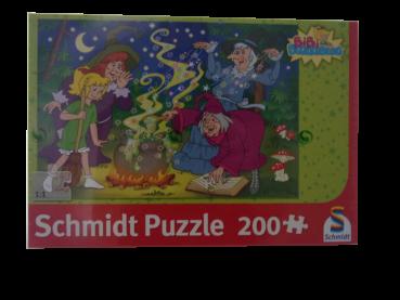 200 Teile Puzzle Bibi Blocksberg Der Hexenkessel NEUWARE