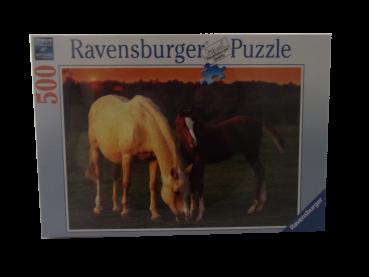 500 Teile Puzzle Schöne Pferde NEUWARE